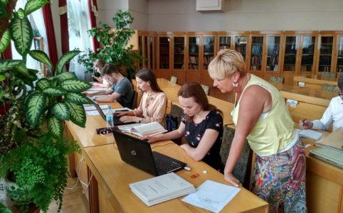 архівна практика студентів в Центральному державному архіві громадських об'єднань