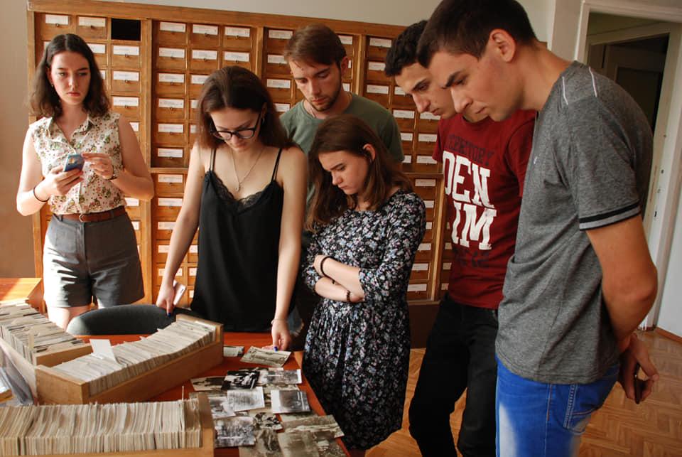 студенти відвідали Центральний державний кінофотофоноархів України імені Г. С. Пшеничного